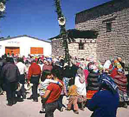Easter (or Semana Santa) is the major holiday of the year for Copper Canyon's Tarahumara Indians